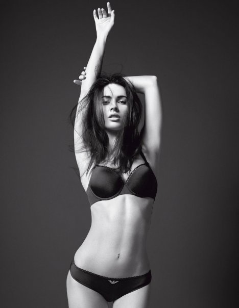 megan fox wallpaper armani. Megan Fox Underwear Photoshoot