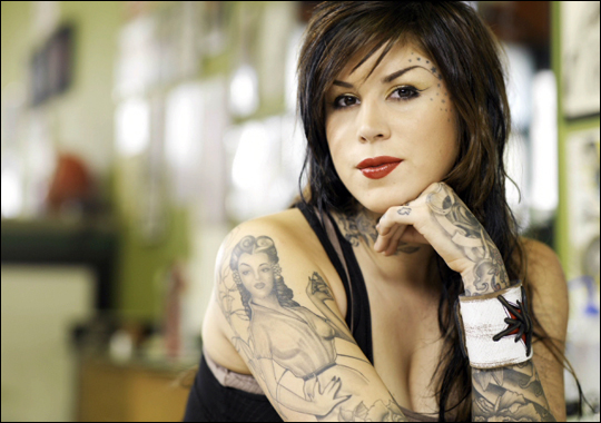 kat von d wallpapers. Kat Von D Sexy Wallpapers