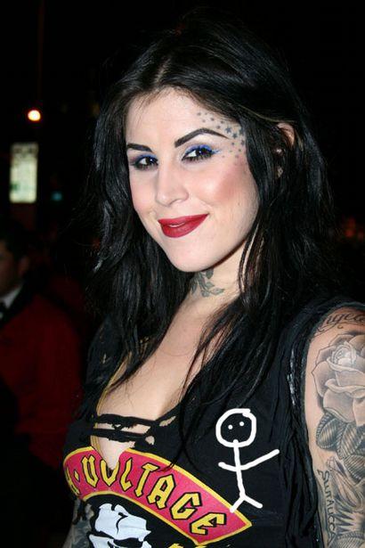 kat von d. American tattoo artist Kat Von